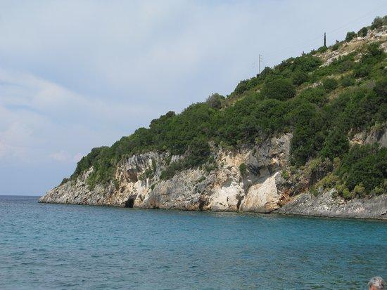 Makris Gialos, Grecia: La costa