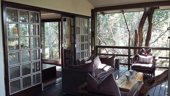 Phinda Private Game Reserve, Zuid-Afrika: Veranda 5