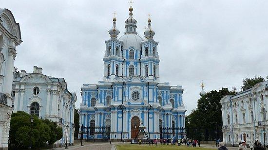 Saratov Oblast, روسيا: Saint-Petersbourg, cathédrale Smolny