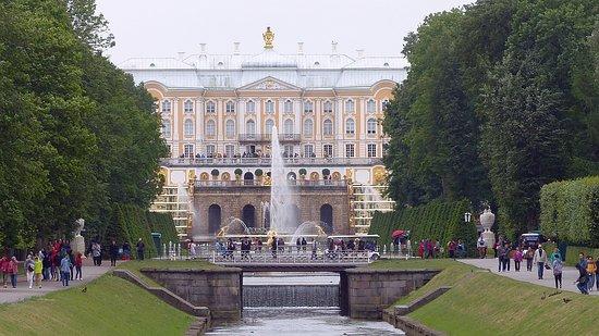 Saratov Oblast, Rosja: Palais de Peterhof