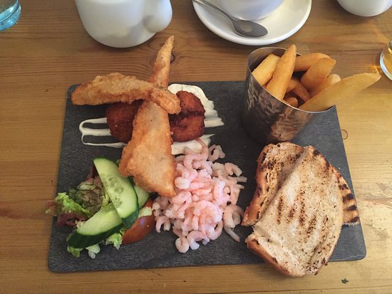 Mundesley, UK: Seafood Platter For One