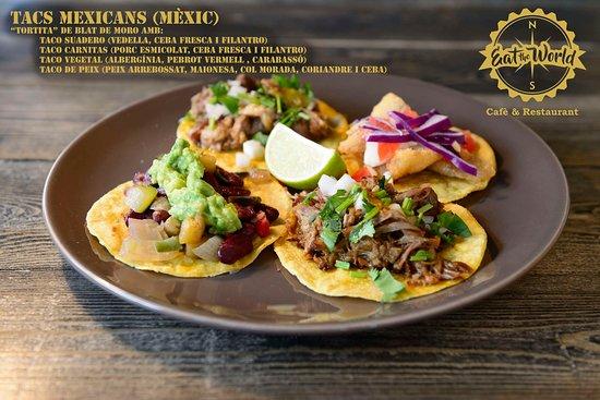 Mollerussa, Espanha: Tacos Mejicanos
