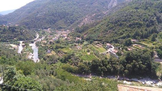 Montalto Ligure, Italy: Panorama da Montalto