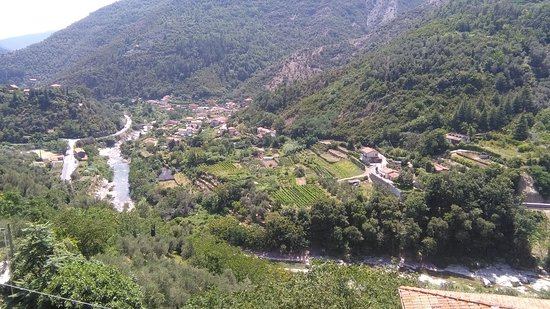 Montalto Ligure, Itália: Panorama da Montalto