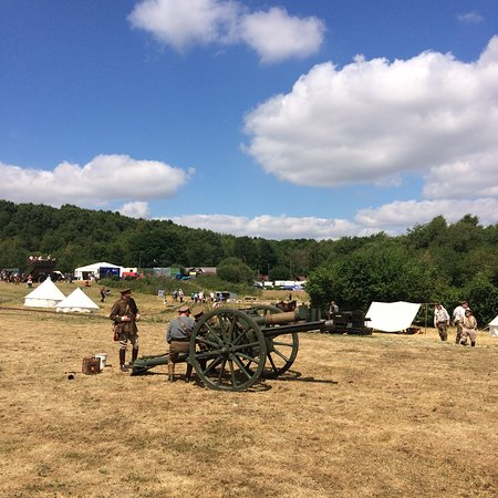 Chesterton, UK: Tracks and Trenches weekend.