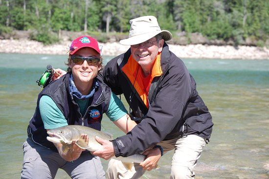 Norman Wells, Canada: Bull trout!