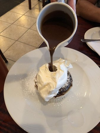 Nutley, NJ: chocolate souffle