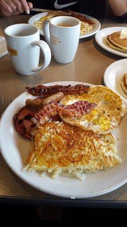 Westley, Калифорния: desayuno