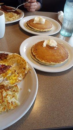 Westley, Калифорния: desayuno 2