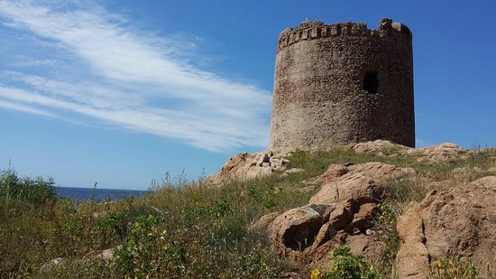 Isola Rossa, Italia: Incantevole paesaggio