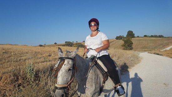La Carlota, Spain: Paseo impresionante