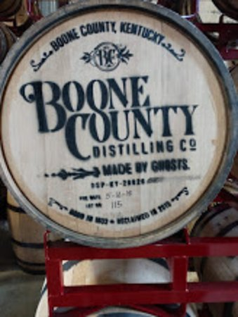 Independence, KY: Great tasting whiskey in these barrells