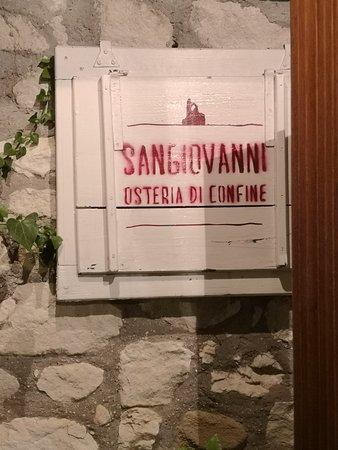 Foto de Sangiovanni Osteria di Confine