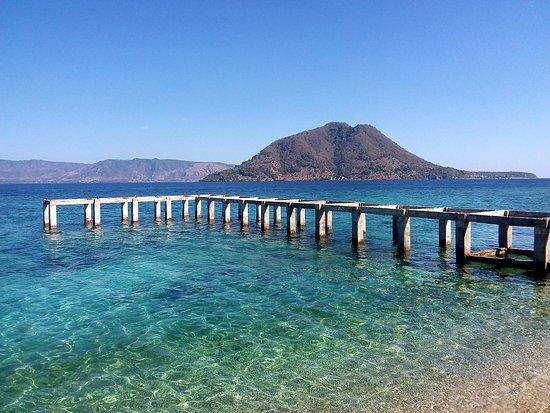 Alor Kecil, Indonesien: Pier en Ternate
