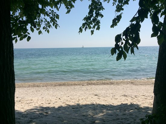 Kelleys Island, OH: Scheele Preserve Beach 07/15/2018