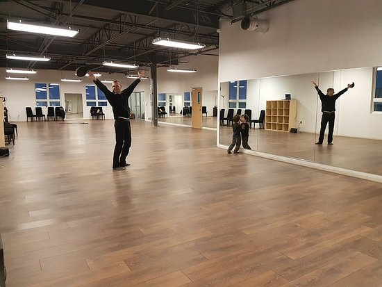 Charlottetown, Canada: View from the back of the new 2200 sq ft studio February 2018