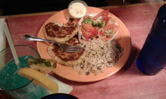 Jack Mackerel's Island Grill: Crab Cake Duo