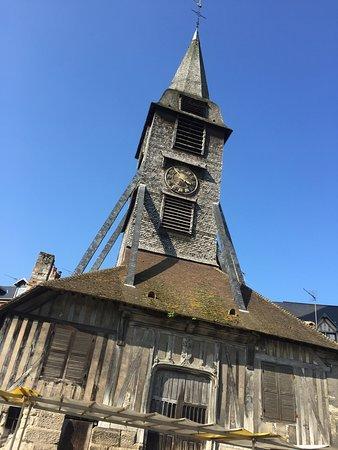 Caudebec-En-Caux Town & Cathedral