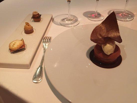 Vonnas, Frankreich: le chocolat en désert