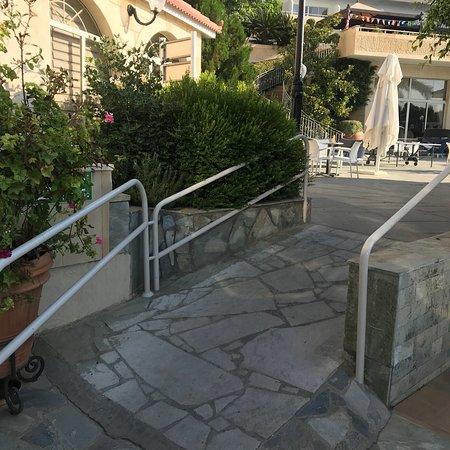 Atlantica Bay Hotel: Around The Indoor Pool . Underground Toilets, Disabled  User Wheelchair Ramps