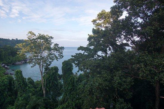 Tekek, Malaysia: View from Balcony
