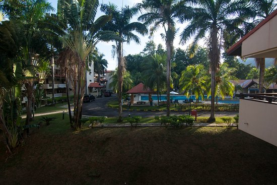 Tekek, Malaysia: View from the front of the room