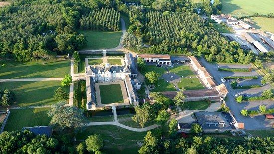Ancenis, France: Domaine des Lys vu du ciel