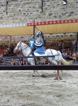 Carcassonne, France: Spectacle de Chevalerie