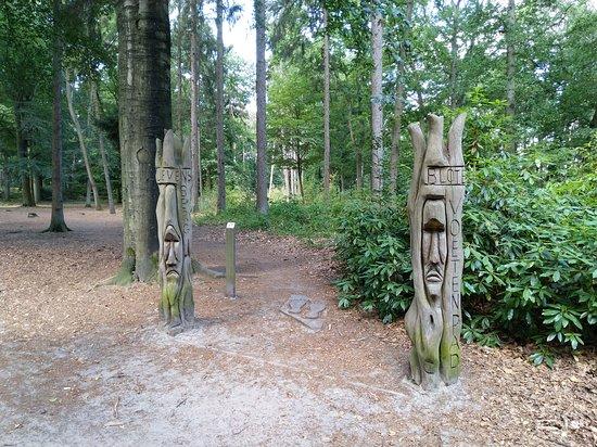 Bergen op Zoom, Países Bajos: Start van het blotevoetenpad
