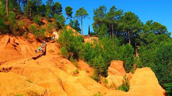 Luberon, Frankrike: Les ocres de Roussillon