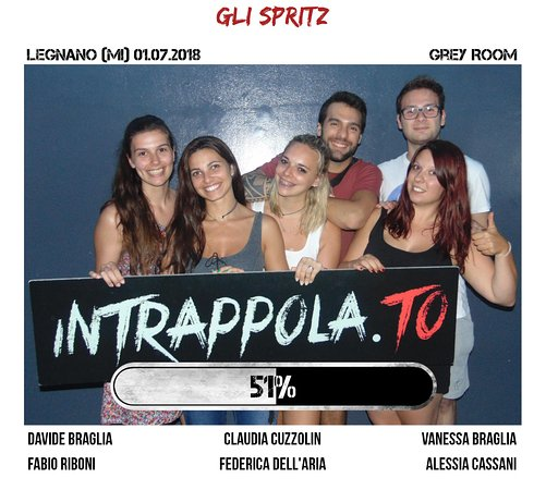 escape room Intrappola.To Legnano