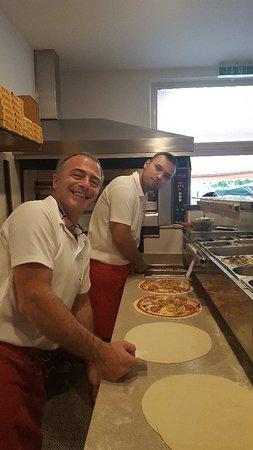 Bad Goisern, Áustria: Pizzeria Peppone