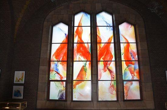 Koekelberg, Belgium: Stained Glass by Kim En Joong