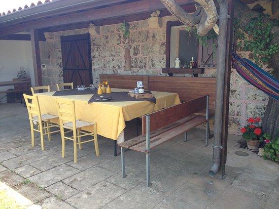 Miggiano, Italia: il nostro tavolo