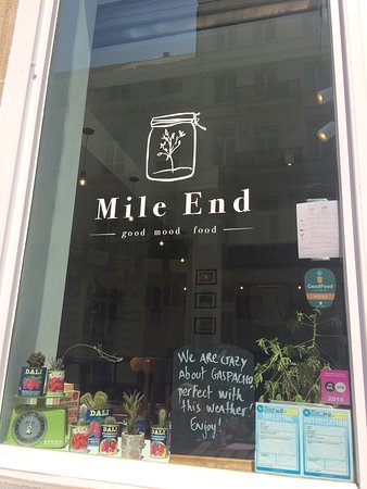 Mile End: Store window