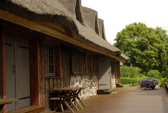 Haeska, Estonia: Кафе, рядом с вышкой