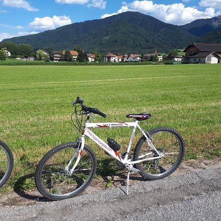 Hotel Kronplatz: Bici dell hotel ad uso gratuito
