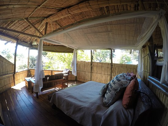 Le camere del Delta Camp