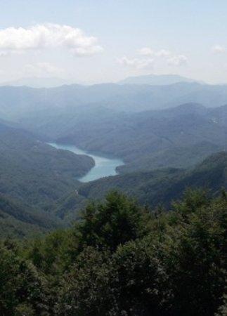Torriglia, Italy: questa era la vista a pranzo