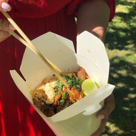 Wejherowo, Polen: Bangkok thai cuisine