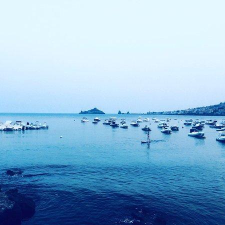 Capo Mulini, Italien: Vista sul mare dal ristorante La Prua