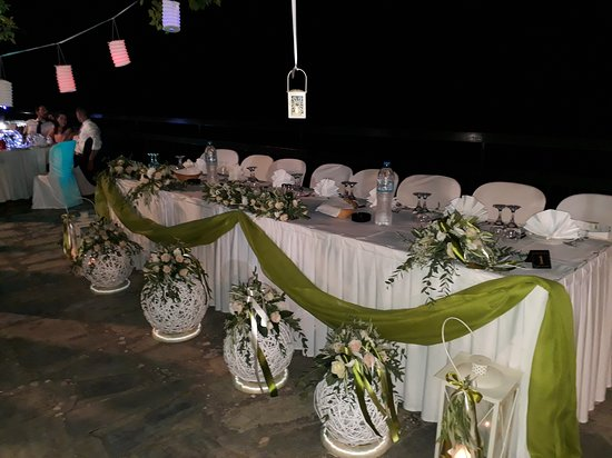 Delphi Chalet Maniatis Summer Wedding Reception Picture Of