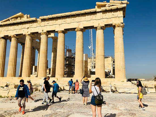Private Greece Tours: A view of the Acropolis