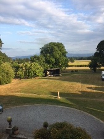 Fethard, Ireland: View from the Breakfast Room