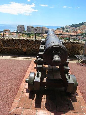 Place du Palais: Cannon