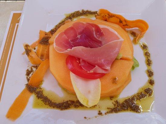 Confort, Francja: Melon Jambon Cru