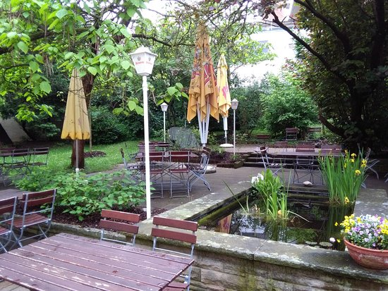 Eppingen, Alemanha: Biergarten #2