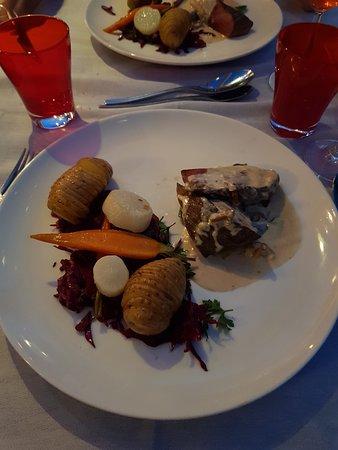 Bateau-Restaurant MS Libellule : Pavé de boeuf