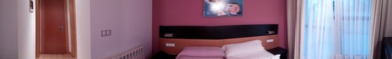 Boal, España: Panorámica de la habitación