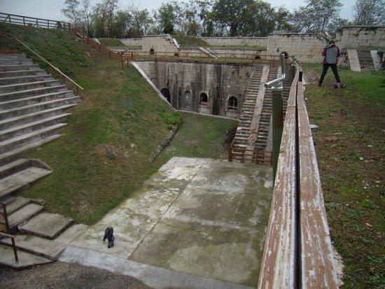San Briccio, Italien: camminando sul forte